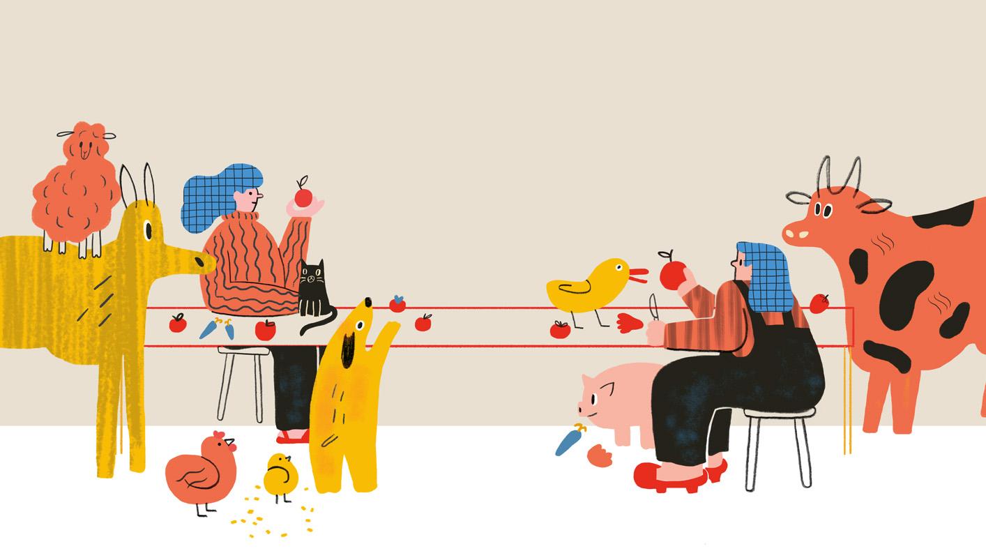 Editorial illustration VIII